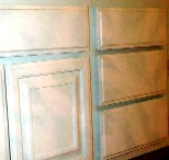 Color Wash on Cabinets